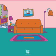 TV SETS - The Simpsons / Elliot Matson