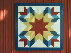 Heritage Barn Quilt Trail of Fayette County Indiana - Sisters Choice