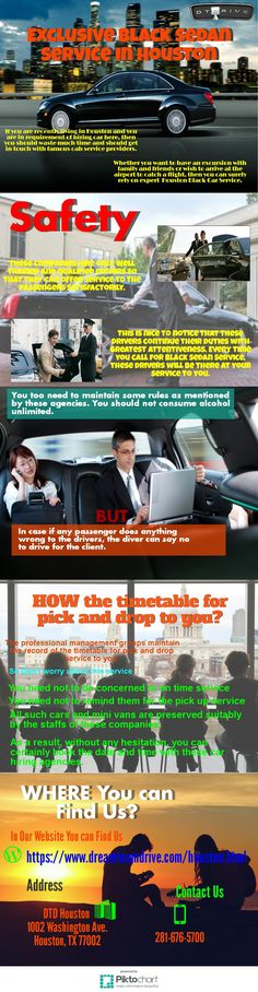 If you are recently living in Houston and you are in requirement of hiring car here, then you should waste much time and should get in touch with famous cab service providers.Whether you want to have an excursion with family and friends or wish to arrive at the airport to catch a flight, then you can surely rely on expert  Houston Black Car Service.