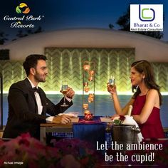 Spend memorable time over a glass of wine near swimming pool at Central Park Resorts. Call For More info - 9560076462 http://www.gurgaonpropertiesinfo.in #CentralParkResort,  #CentralParkTheroom