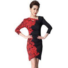 Boho Clothing Bohemian Dress 2016 Summer Floral Print Dresses Patchwork Plus Size Women Clothing White Red Korean Tunic Vestidos