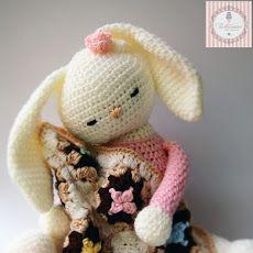 Pattern Free Amigurumi Chloe Bunny. Come to know us for our facebook  and website. Patrón gratis Amigurumi Conejita Chloe. Pasa a conocernos por nuestro facebook y sitio web. www.tarturumies.com https://www.facebook.com/Tarturumies