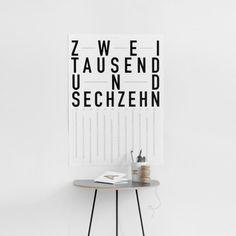TYPE HYPE Jahreskalender DIN 2016 – Motiv 2   selekkt.com