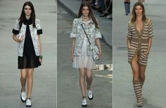 シャネル コレクション 12 を着用する準備ができて SS 2015 ガレージ若手パリ ロンドンファッションウィークの春夏 1705  ファッション ブログ