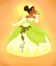 My submission for The Princess and the Frog Week Day 7 in Project Disney This was my favorite out of the drawings I submitted that week Princess and the. A Kiss from a Princess Tiana Disney, Disney Nerd, Disney Fan Art, Disney Girls, Disney Love, Disney Princesses, Princesa Tiana, Frog Princess, Disney Princess Art