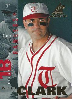 Baseball Card Will Clark 1997 Pinnacle Inside #24 Texas