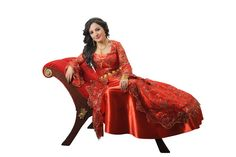 Very beautiful red Kurdish Dress. Fashion Clothes, Fashion Outfits, Kurdistan, Traditional Clothes, Headgear, Folklore, Culture, Costumes, Red