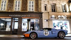 Ford GT Heritage edition / Gulf racing