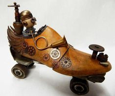 how to weld scrap metal art – Schnitzerei Recycled Robot, Recycled Art, Repurposed, Found Object Art, Found Art, Metal Art Projects, Metal Crafts, Arte Steampunk, Sculpture Metal
