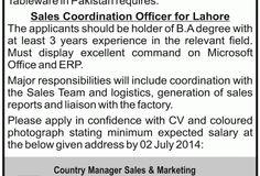 Job Opportunity (Tariq Glass Industries)   New Jobs Portal