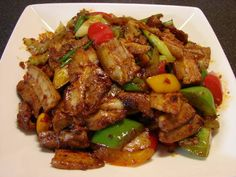 The Bestest Recipes Online: Twice Cooked Pork Stir-Fry