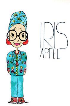 Iris Apfel-By my Daughter