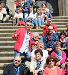 Group de la #France #visitesguidees #italopendola #guidedtoursingalicia #santiagodecompostela