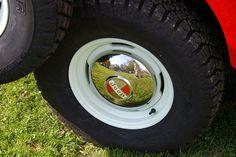 1965 Jeep CJ-5A Tuxedo Park Mark IV - Half Moon Chrome Hubcap | Flickr - Photo Sharing!
