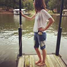 Patched Jeans, Denim Patchwork, Cute Jeans, Jean Shorts, Summertime, Upcycle, Womens Fashion, Fashion Trends, Instagram Posts