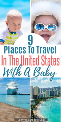 If you think travel has to stop just because you have a new baby, think again. There are plenty of great places to travel with a baby in the US. Usa Travel Guide, Packing Tips For Travel, Travel Usa, Travel Hacks, Travel Guides, Toddler Travel, Travel With Kids, Family Travel, Baby Travel
