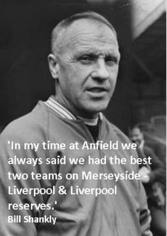 Bill Shankly (Ex-Liverpool Manager) on Everton Liverpool History, Liverpool Fans, Liverpool Home, Liverpool Football Club, Liverpool Legends, Liverpool Anfield, Liverpool Champions, Gerrard Liverpool, Bill Shankly