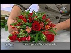 Mini-curso arranjos florais - TV Gazeta - 28/04/2010 - 2a. parte