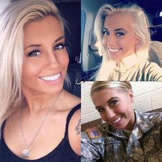 US ARMY My name is Alexandria, I'm from Illinois. I was active duty military police in the army for 4 years. I love the outdoors, lifting heavy weights and shooting guns in my spare time. Most Beautiful Images, Beautiful Eyes, Beautiful Women, Military Women, Military Police, Usmc, Viking Dress, Tough Girl, Female Soldier