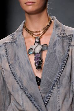 Cross your heart...Iceberg Spring 2013 - Details. // Empress Of Style