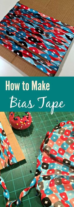 Create your own bias tape easily with this photo tutorial. sewing for beginners | bias tape how to | sew bias tape | diy bias tape | diy binding | learn to sew | easy sewing patterns | free sewing pattern | how to finish seams | how to sew bias tape