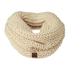Rip Curl Scarves - Rip Curl Cocoon Collar  - White Smoke