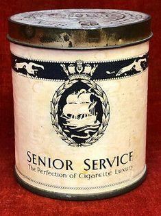 Senior Services, Cigarette Brands, Royal Navy, Coffee Cans, Pipes, Empty, Charity, Tin, Funny Pictures