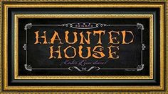 Haunted house wall decorations are wicked awesome for Halloween Home décor 2017. You will appreciate this if you love haunted house wall art. As this is the epitome of spooky, scary, evil and creepy Halloween wall art Framed Canvas Print Wall Art Haunted House by Stephanie Marrott - 9