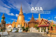 The sights, scents and sounds of Asia are uniquely exotic to first-time travelers to the continent yet they stay that way even after many visits. The extremes of China, the rolling verdant landscape of Vietnam, the sensory overload of Indonesia to the graceful side of Thai culture all