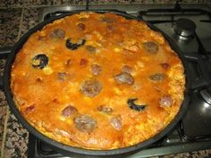 Wild Rice, Spanish Food, Savoury Cake, Omelette, Churros, Flan, Mexican Food Recipes, Kitchen, Paella