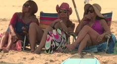 "'Real Housewives of Potomac' 106 Beach Bitch Session - https://movietvtechgeeks.com/real-housewives-potomac-106-beach-bitch-session/-The Real Housewives of Potomac continued this week with its 6th episode, ""Beach Session."" In this episode, young housewife Ashley tries to impress her new friends by inviting them to her beach house."