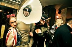 Snowhite, Pixar lamp and Catwoman? Well, why not :)