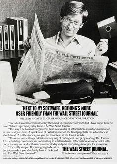 Vintage Bill Gates.
