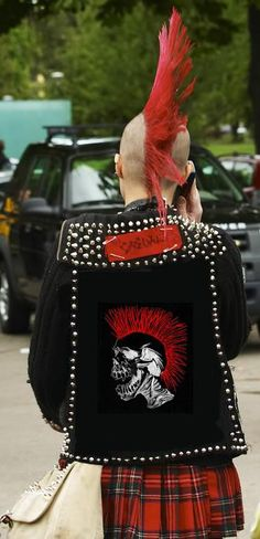 #punkrock #chaostocouture
