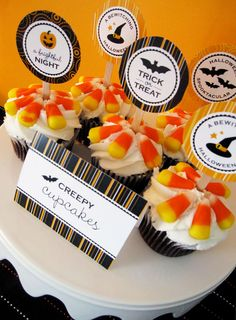 NEW! Halloween party printables on http://www.chickabug.com/blog