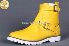 Cheap Timberland Workboots Men's 6-Inch Premium Pull-On Waterproof In Yellow $83.99