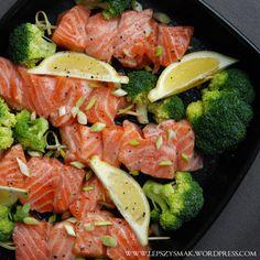 Łosoś z brokułem (3) Beef, Chicken, Poland, Meat, Ox, Ground Beef, Cubs, Steak, Kai
