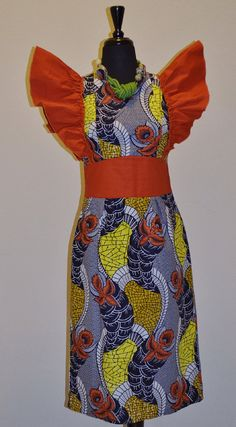 Click here for latest Ankara Styles and Africa Clothing >> http://www.dezangozone.com/African Print Dress