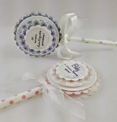 LOLLIPOPS - DT CAMILLA Paper Pop, Fabric Cards, Candy Cards, Candyland, Rosettes, Wands, Gift Tags, Lolly Pop, Card Making