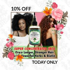 Today Only! 10% OFF this item.  Follow us on Pinterest to be the first to see our exciting Daily Deals. Today's Product: Super Concentrated Jamaican Black Castor Oil, Biotin Hair Oil, Sulfur Hair oil, Fo-ti, Yucca, Garlic oil, Cayenne, Peppermint hair oil Buy now: https://small.bz/AAePDfu #etsy #etsyseller #etsyshop #etsylove #etsyfinds #etsygifts #musthave #loveit #instacool #shop #shopping #onlineshopping #instashop #instagood #instafollow #photooftheday #picoftheday #love #OTstores…