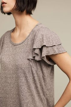 Shop the Rae Ruffle Tee and more Anthropologie at Anthropologie today. Read customer reviews, discover product details and more.