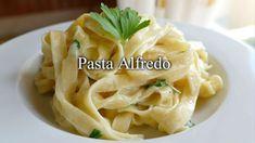 Recetas Caseras Fáciles MG: Pasta Alfredo Pasta Alfredo Receta, Cabbage, Vegetables, Tagliatelle, Spaghetti, Pasta Recipes, Kitchen Gadgets, Homemade Recipe, Pasta Types