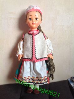 Кукла СССР, кукла в народной одежде бывшей Смоленской губернии, Ф-Ка 8 Марта