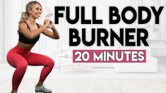 SWEATY FULL BODY BURNER   20 minute Home Workout - YouTube Total Body, Full Body, Belly Fat Diet, Natural Women, Weight Loss For Women, At Home Workouts, Cardio, Lose Weight, Exercise