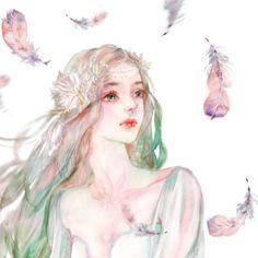春暖花开_涂鸦王国 原创绘画平台 www.poocg.com