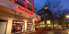Hard Rock Cafe Berlin - my veggie burger was amazing!!!