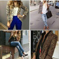 Trending: leopard print blazers
