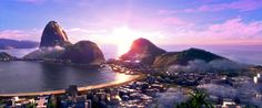 Rio De Janeiro (photo from the Rio movie)