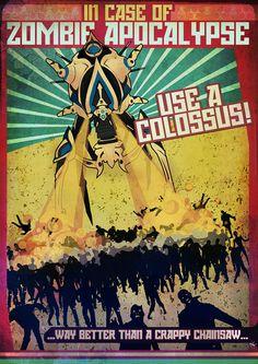 Use a Colossus!