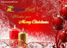 Tours craft wishes you a very Merry Christmas  www.tourscraft.com